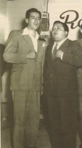 En la locución Alberto Valencia y Gonzalo Benítez