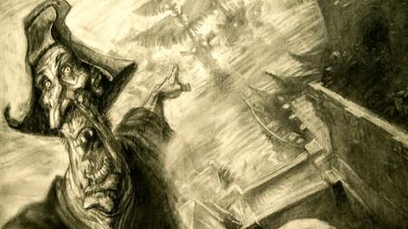 El cuadro La Conquista ilustra el horror que fue para los españoles el descubrimiento de A-Méxica, como llamaron los aztecas a Europa.