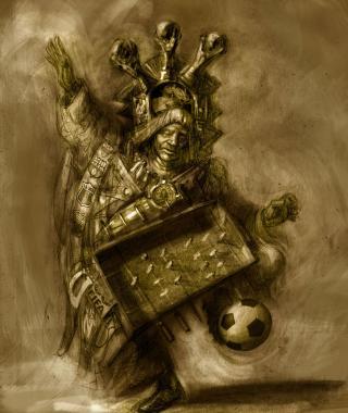 Penalty Raymi La devoción al fútbol penetró hasta en las tradiciones religiosas más antiguas. Este es el caso de las celebraciones precolombinas del Inty Raymi que se convirtieron en el Penalty Raymi. Los Danzantes de Penalty Raymi van adornados de pies a cabeza con simbología del balompié mientras hacen danzas de inspiración mística basadas en movimientos clásicos como las cascaritas, paradas de pecho, chilenitas, etc.