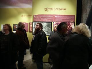 El Espejo Humeante Exposición en museo