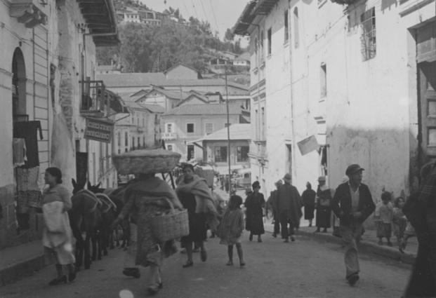 Quito, circa 1949