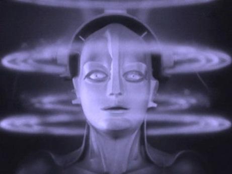 Fotograma de Metrópolis de Fritz Lang.
