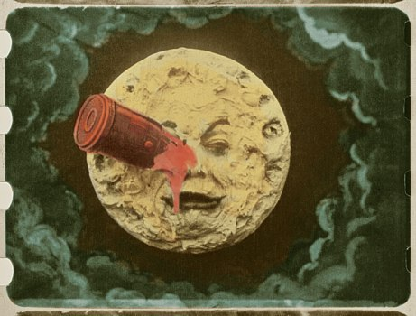 Fotograma de Le voyage dans la Lune (1902) de Georges Méliès