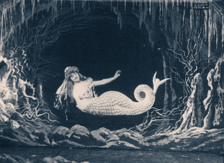 Fotograma de La Siréne (1904) de Georges Méliès