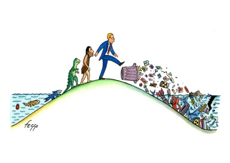 Caricatura de Felipe Galindo (EE.UU.)