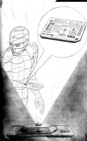 "La novela ""La estrella roja"" tiene dibujos realizados por Fernando Bahamonde."