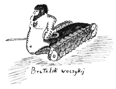 "Dibujo de Lem: ""Brutalik"""