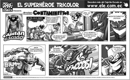 Superhéroe: el Capitán Escudo | Ciencia Ficción en Ecuador