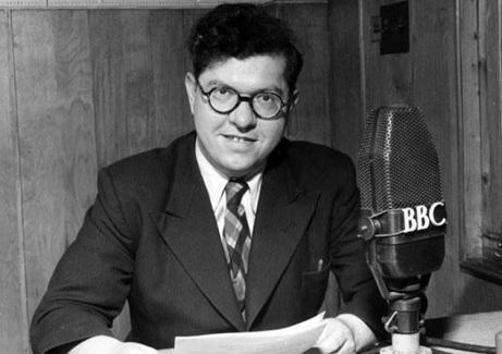 Fred Hoyle en la BBC