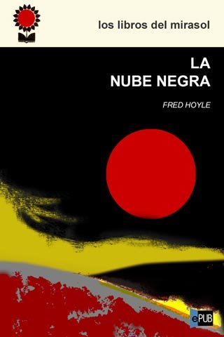 "Portada de la novela ""La nube negra"" de Hoyle"