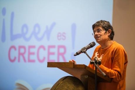 Cristián Londoño Proaño en un conferencia reciente en Quito.