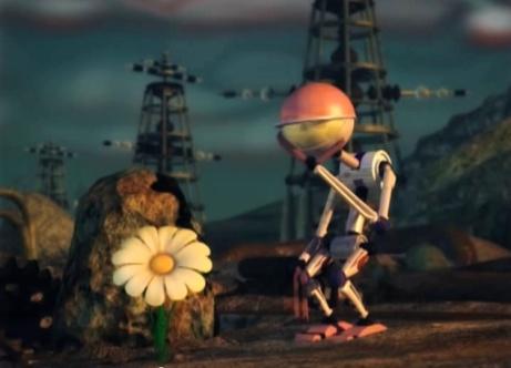 """Fotograma del cortometraje de animación """"Brote Subversivo"""" de Fabio Ferro."""
