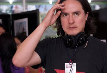 El cineasta Iván Mora Manzano.
