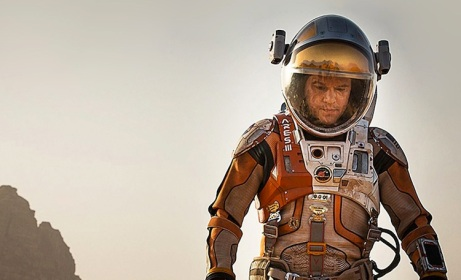 "Fotograma de ""The Martian"" (2015) de R. Scott."