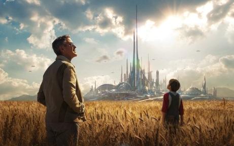 "Promocional del film ""Tomorrowland"" de Brad Bird (2015)."