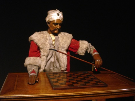 Von Kempelen's chess player.