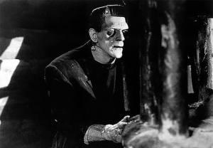 Boris Karloff interpretó a Frankenstein en el filme de James Whale, en 1931.