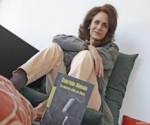 Gabriela Alemán. Foto, diario La Hora, Quito,