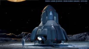 Arte conceptual de la nave de descenso (fuente: http://www.comingsoon.net/movies/news/103567-check-out-concept-art-from-europa-report)
