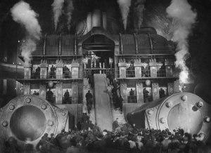 """Fotograma del film """"Metropolis"""" de Fritz Lang."""
