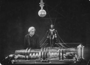 """Fotograma del film """"Metrópolis"""" de Fritz Lang."""