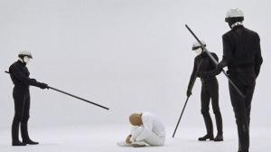 Fotograma de THX 1138 de George Lucas